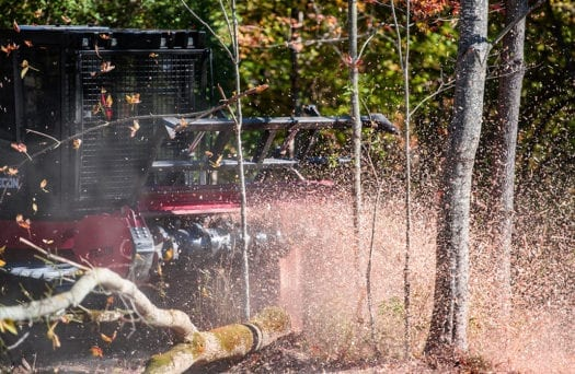 FTX300 Mulching Forestry Tractor 3