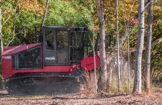 FTX300 Mulching Forestry Tractor