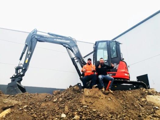 JT's Earthworks 85ZT Mini Excavator