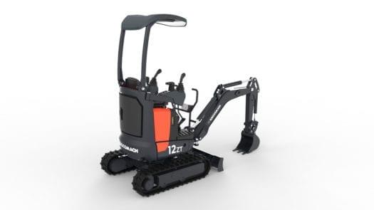 Eurocomach 12ZT Mini Excavator for Sale 1