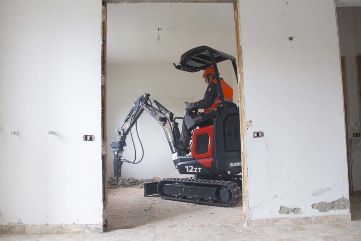 Eurocomach 12ZT Mini Excavator for Sale 4