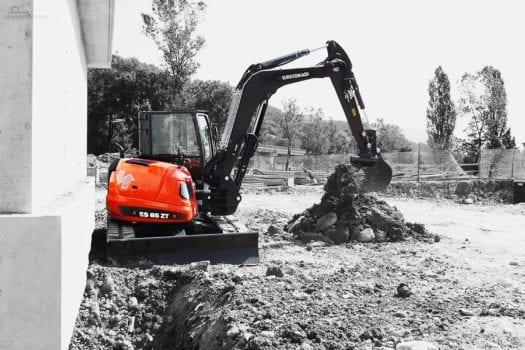 Eurocomach ES85ZT Mini Excavator 3