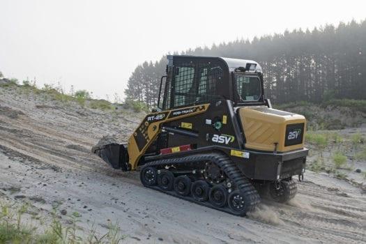 ASV RT-25 Posi-Track Uphill Power