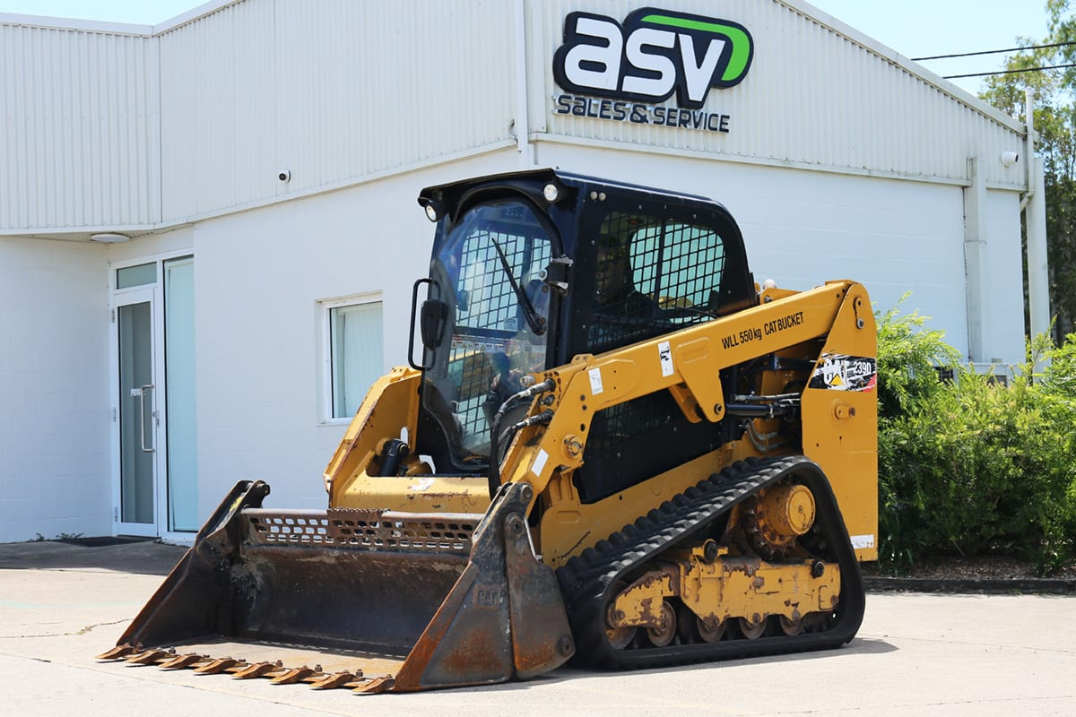Cat 239D Track Loader Used Newcastle
