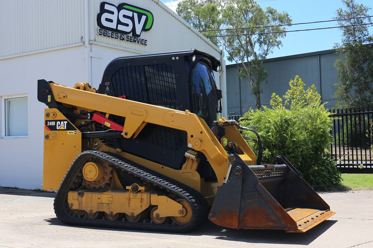 Cat 249D Compact Track Loader Newcastle Used